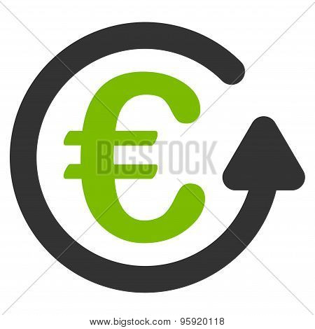 Chargeback icon from BiColor Euro Banking Set