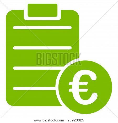 Agreement icon from BiColor Euro Banking Set