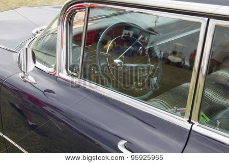 1959 Cadillac Flat Top Car Interior