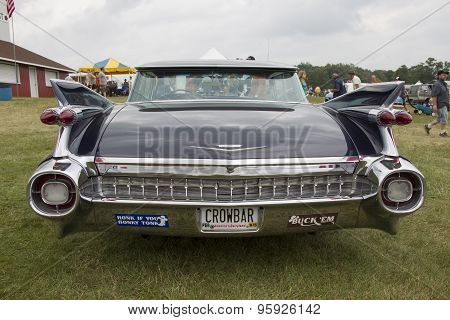1959 Cadillac Flat Top Car Rear View