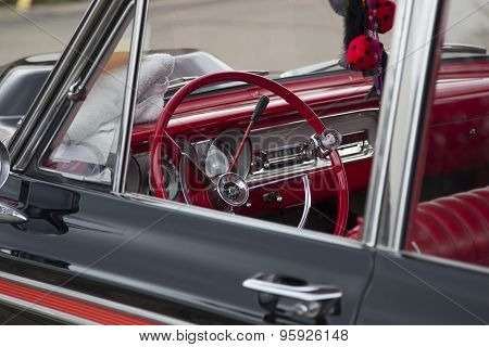 1963 Ford Fairlane 2 Door Sedan Car Interior