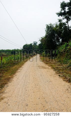 Dirt Road Thailand