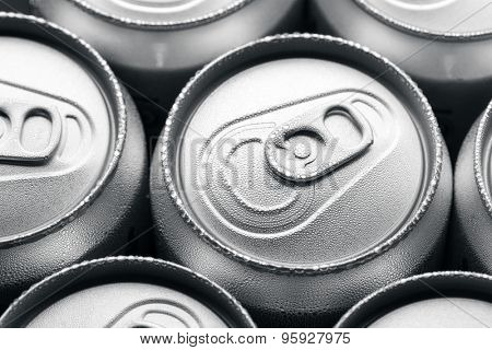 Cold canned drinks