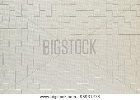 Curtain Blinds Vinyl Texture, 3D Block Style