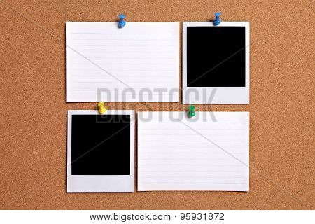 Blank Photos With Index Cards