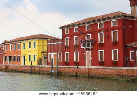 Burano, Italy Houses