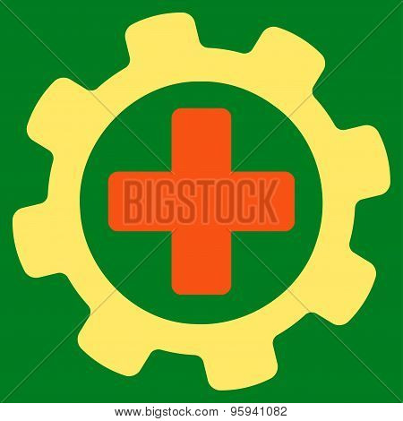 Medical Settings icon from Business Bicolor Set