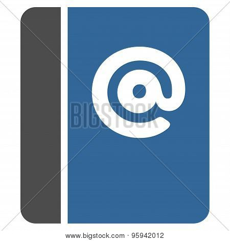 Emails icon from Business Bicolor Set