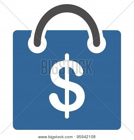 Shopping icon from Business Bicolor Set