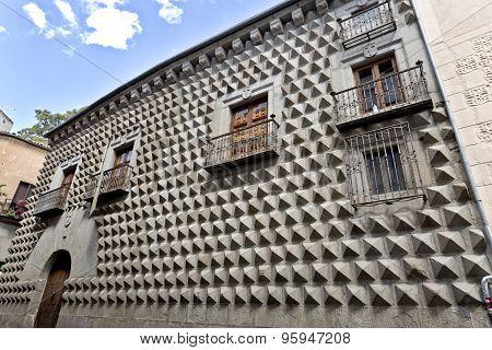 Segovia Casa De Los Picos