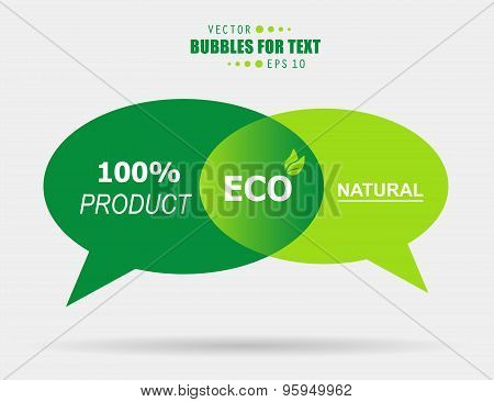 Abstract Creative concept vector empty speech bubbles set. For web and mobile applications isolated