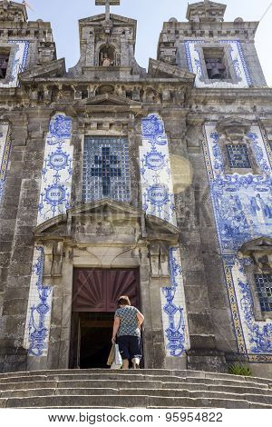 Church Of Saint Ildefonso - Igreja De Santo Ildefonso - 18Th Century Building Baroque Style in Porto