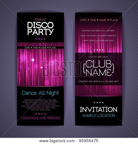 Disco Corporate Identity Templates. Disco Background