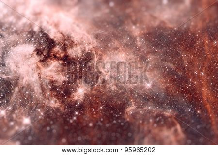 The Region 30 Doradus Lies In The Large Magellanic Cloud Galaxy.