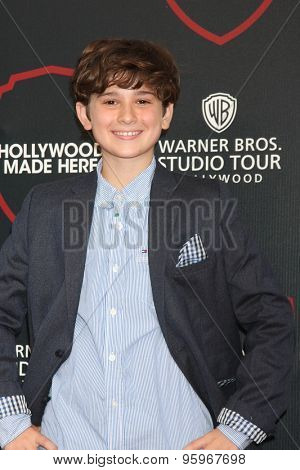 LOS ANGELES - JUL 14:  Jax Malcolm at the Warner Bros. Studio Tour Hollywood Expansion Official Unveiling, Stage 48: Script To Screen at the Warner Brothers Studio on July 14, 2015 in Burbank, CA