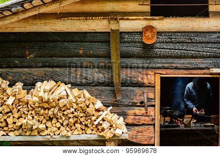 Woodsman Cooking