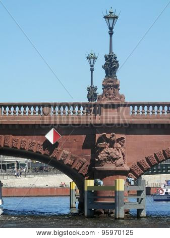 Bridge On River Spree