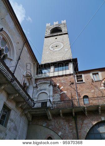 The campanile of Bergamo