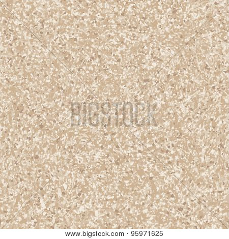 Flecked marble seamless background. Vector
