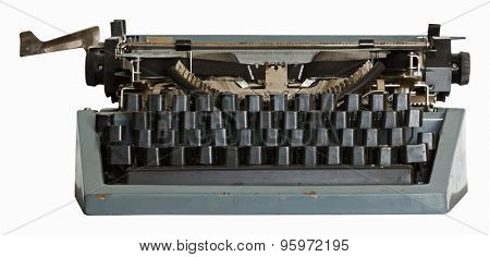 vintage typewriter, vector