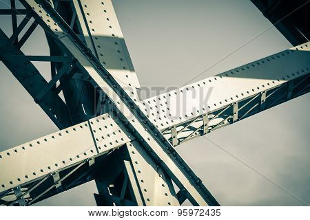 Modern Bridge Frame Closeup
