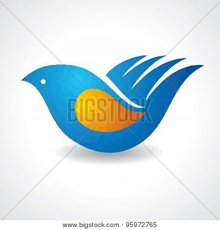 Creative idea - hand make a bird