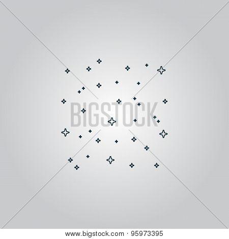 starry sky icon