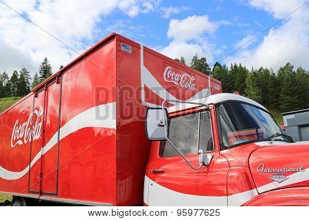Vintage Coca-Cola Truck