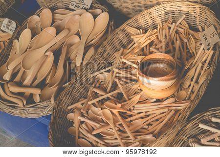 Wooden Kitchenware Handicrafts