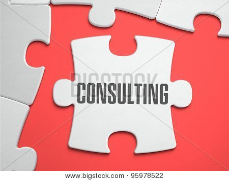 Consulting - Puzzle on the Place of Missing Pieces.