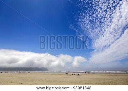 sand and sky, Seaside, Oregon