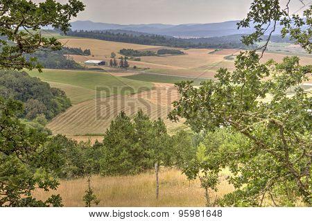 rural Oregon landscape