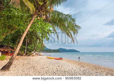 Famous Lonely Beach at the Koh Chang island, Thailand