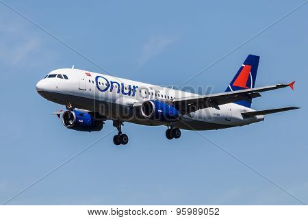 Airbus A320 Aircraft Of The Onur Air