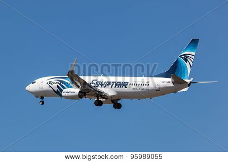 Boeing 737-800 Aircraft Of The Egyptair
