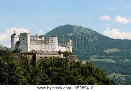 Festung Hohensalzburg And Gaisberg Mountain