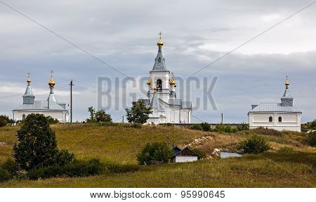 Ancient Orthodox Monastery. Russia. Suzdal.
