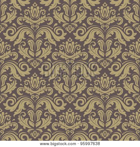 Damask Classic Vector Pattern
