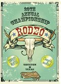 image of texans  - Retro style rodeo - JPG