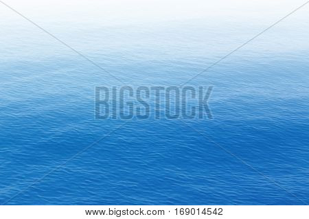 Image of blue sea surface as a background