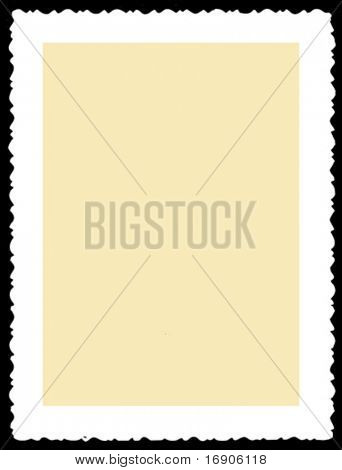 aging photographic paper. vector