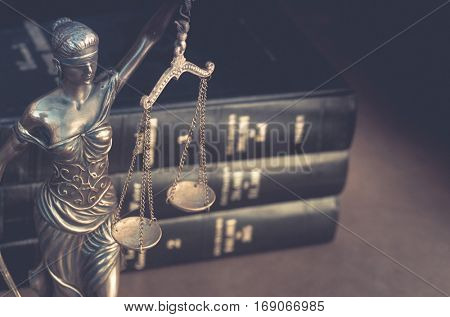 Burden of proof, legal law concept image.