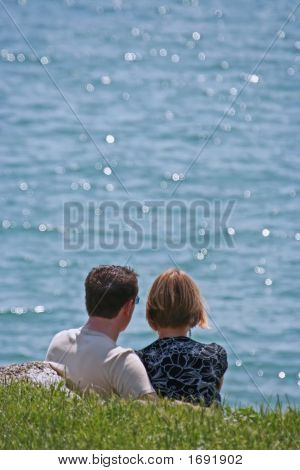 Couple With Sea View