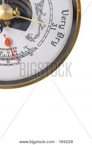 Barometer Set On Ver Y Dry
