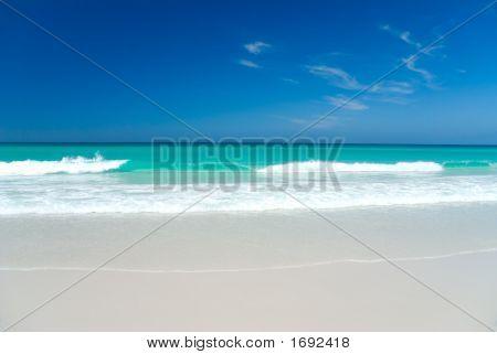 Perfect White Beach