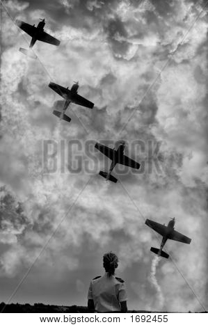 Aerial Military Show