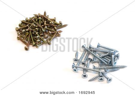 Resistance Of Steel And Chrome Screws
