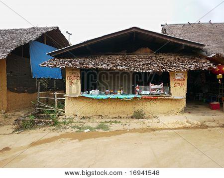 Nudel-Shop In Ban Rak