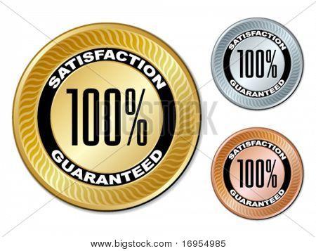 vector satisfaction guaranteed labels