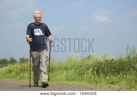 Walking Senior